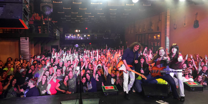 Journey Unauthorized brings out the biggest crowds with over 1400+ fans at Speaking Rock, El PAso, Texas